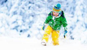 Los mejores trajes de bebé para la nieve