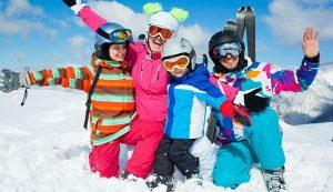 Las mejores chaquetas de esquí para niños