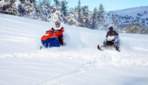 Los mejores cascos para motos de nieve